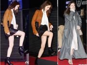 """Làng sao - Yoona bối rối vì váy ngắn, """"đối đầu"""" với bạn gái Lee Min Ho"""