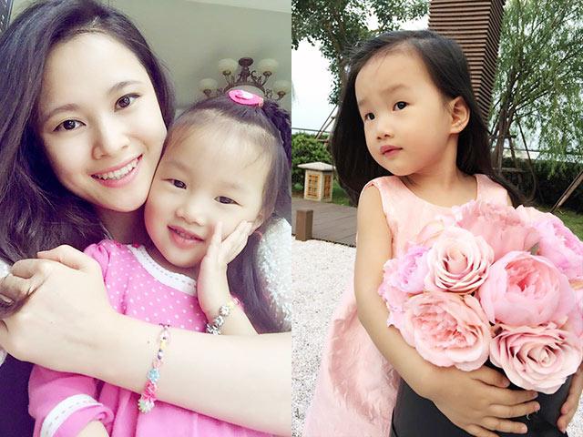 Gặp BTV Khánh Ly của Bản tin Tài chính và cô con gái nói trôi chảy Tiếng Anh từ 2 tuổi rưỡi