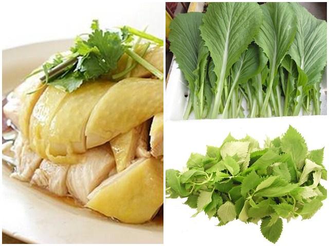 Những thực phẩm nào không nên ăn chung với thịt gà?