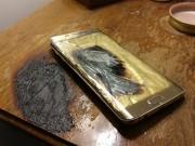 Thêm điện thoại Samsung phát nổ, lần này là S6 Edge