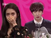 Song Ji Hyo khóc nức nở trong bài phát biểu về Running Man của Lee Kwang Soo