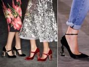 Thời trang - Quên giày gót nhọn đi, đế giày như tác phẩm nghệ thuật này mới đẳng cấp