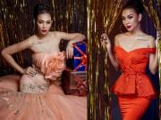 Thời trang - Siêu mẫu Diệu Huyền gợi ý váy dạ tiệc lộng lẫy cho mùa lễ hội