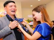 Làng sao - Vắng bà xã, Bình Minh quấn quýt bên Lan Phương tại sự kiện