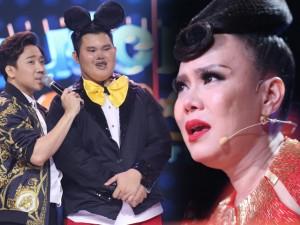Việt Hương khóc giàn giụa, phát hiện chàng trai béo nhất Bước nhảy ngàn cân trầm cảm