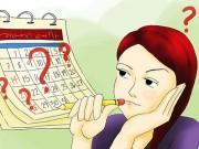 Những dấu hiệu kinh nguyệt không đều chị em phụ nữ nên biết