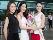 Thời trang - Á hậu Hà Thu mang 10 chiếc vali khủng để lên đường tham gia Hoa hậu Trái đất 2017