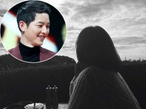 """Bắt gặp Song Joong Ki chụp hình """"sống ảo"""" cho Song Hye Kyo trong ngày hẹn hò trước khi cưới"""