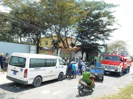 Rò rỉ khí độc ở TP.HCM, 4 người nhập viện, vật nuôi chết la liệt