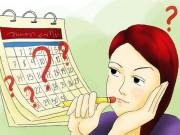 Theo dõi chu kỳ kinh nguyệt - việc phụ nữ nào cũng phải biết