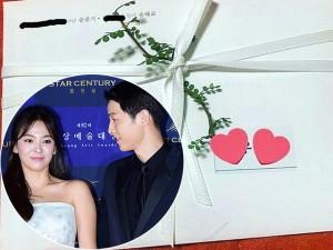 Fan thất vọng vì tấm thiệp cưới của cặp đôi quyền lực Song Joong Ki và Song Hye Kyo