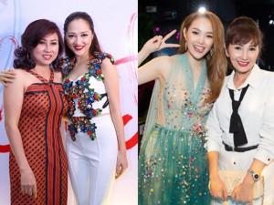 Những bà mẹ của Hồ Ngọc Hà, Hoàng Thùy Linh, Minh Hằng vẫn đẹp rạng ngời tuổi trung niên
