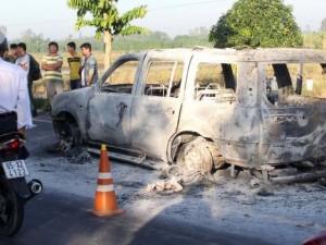 Thông tin mới nhất vụ con gái đánh ghen hộ mẹ, thuê người đốt xe khiến cha tử vong