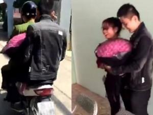 Thanh niên được công an chở đi tặng vợ 101 bông hồng
