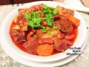 Bếp Eva - Bò hầm đậu đỏ và rau củ ấm nóng cho cuối tuần