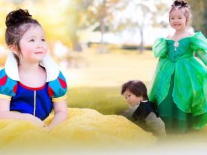 Fan trầm trồ vì 2 'thiên thần lai' nhà Elly Trần đẹp như công chúa, hoàng tử trong tranh
