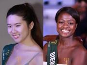 """Thời trang - """"Hoảng hốt"""" khi ngắm nhan sắc thật sự không Photoshop của thí sinh Hoa hậu Trái đất 2017"""