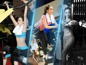 Cùng nghía qua bí kíp của những chân dài chăm chỉ tập gym nhất nhì showbiz Việt nào!