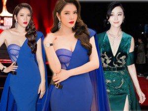 Sao mặc đẹp tuần: Cùng diện váy xanh, Phạm Băng Băng, Lý Nhã Kỳ nổi bật khó ai bằng