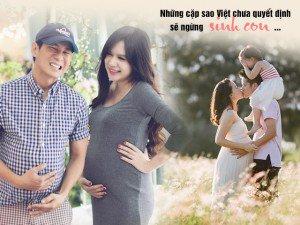4 cô vợ muốn đẻ hoài không chán của showbiz Việt