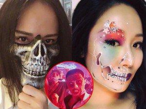 """Sao Việt khiến fan hoảng hồn khi biến thành """"thây ma, xác sống"""" đáng sợ đêm Halloween"""