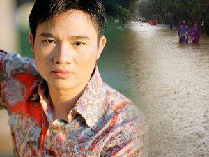 Nhà của ca sĩ Quang Linh ở Huế bị ngập sâu 2 mét trong cơn bão Damrey