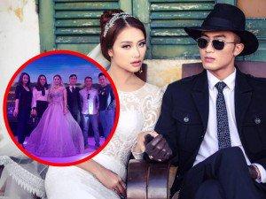 Đám cưới Trần Tú - Người phán xử: Công Lý cùng bạn gái và đồng nghiệp tưng bừng tới dự
