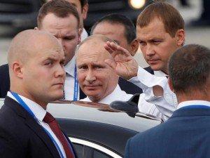 APEC 2017: Tổng thống Nga Vladimir Putin đến Đà Nẵng