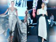 """Thời trang - Hoàng Thuỳ và Lan Khuê """"quét sạch"""" sàn diễn thời trang khủng hàng ngàn khán giả"""