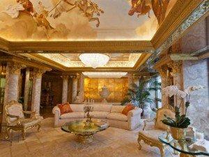 Cung điện trên không dát vàng choáng ngợp của Tổng thống Mỹ Donald Trump