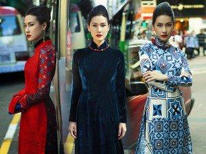 Kathy Uyên khoe vẻ đẹp kiêu hãnh với áo dài Cô ba Sài Gòn