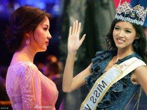 Từng là Hoa hậu Trung Quốc đẹp nhất Thế giới, Trương Tử Lâm cũng có ngày xuống sắc
