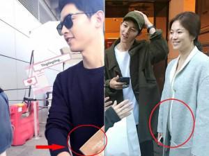 Ngôi sao 24/7: Sự thật sau bức hình Song Joong Ki ở sân bay mua sách nuôi dạy trẻ con