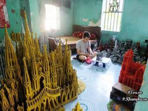 Chàng trai 9X thổi hồn vào những mô hình làng quê Việt độc đáo chỉ bằng... kim tiêm y tế