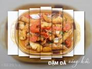Bếp Eva - Ngon và hấp dẫn với cá sốt cà chua, tóp mỡ chưng mắm tép cho bữa chiều