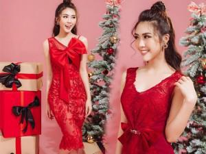 Tường Linh hóa thành công chúa kẹo ngọt với loạt váy đỏ đa phong cách