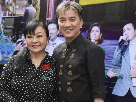 Hương Lan, Quang Lê đến chúc mừng Đàm Vĩnh Hưng ra mắt DVD liveshow Bolero