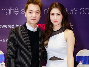 Vợ chồng Đăng Khôi xuất hiện tình tứ tại sự kiện công bố Giải thưởng tôn vinh nghệ sĩ trẻ