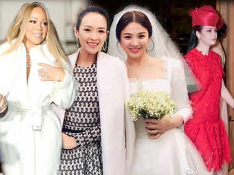 Mặc đồ nổi hơn cô dâu, không ít ngôi sao bị chê kém duyên!