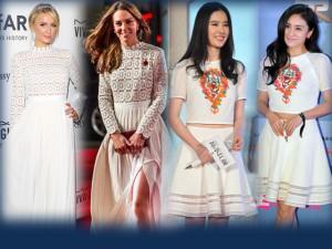"""Cách nhau cả chục tuổi, các sao nữ vẫn chẳng ngại """"mặc chung đồ"""""""