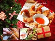Bếp Eva - Gợi ý 5 món ngon, hấp dẫn cho Giáng sinh thêm ấm cúng