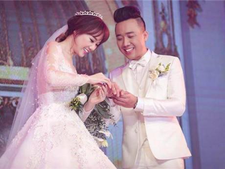 """Trấn Thành nhắn nhủ Hari Won nhân 1 năm ngày cưới: """"Cảm ơn em đã đến bên anh"""""""