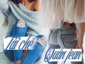 Tận dụng jeans cũ vứt xó để sở hữu quần mới cực thông minh mà không lãng phí