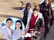 Giải trí - Bắt gặp Angelababy co ro trong giá lạnh lặn lội tới thăm ông xã Huỳnh Hiểu Minh
