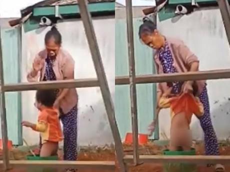 Vụ bé trai 2 tuổi bị bạo hành ở Đăk Nông: Lời khai bất ngờ của bảo mẫu
