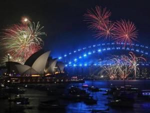 2018 'gõ cửa' thế giới, nhiều nước đã nổ pháo hoa rực sáng bầu trời mừng năm mới