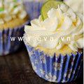 Bếp Eva - Cupcake chanh thơm ngon