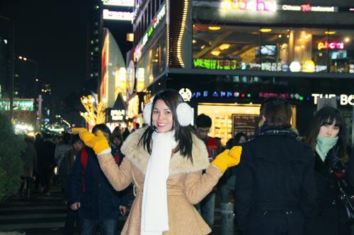 Trà Ngọc Hằng vui sinh nhật ở Hàn Quốc-4