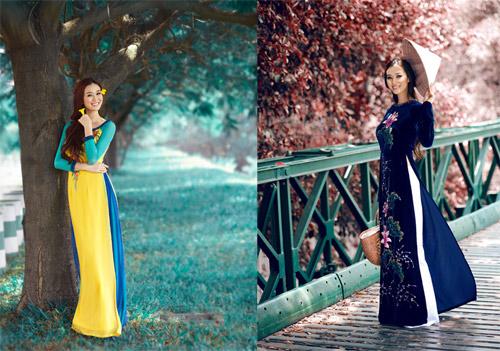 10 my nhan mac ao dai dep nhat showbiz - 11