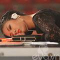 Làng sao - HH Ngọc Hân ngủ vùi trên ghế giám khảo